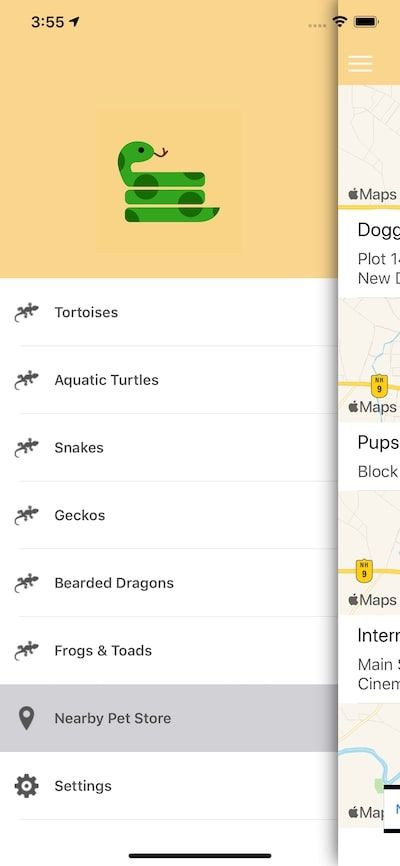 Reptiles And Amphibians - iOS Source Code Screenshot 4