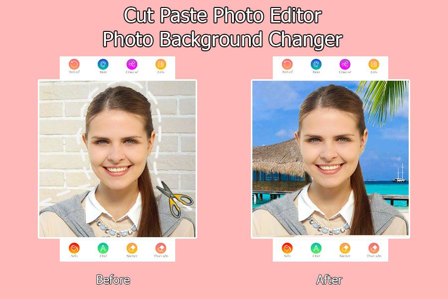 Cut Paste Photo Editor – Android Source Code Screenshot 1