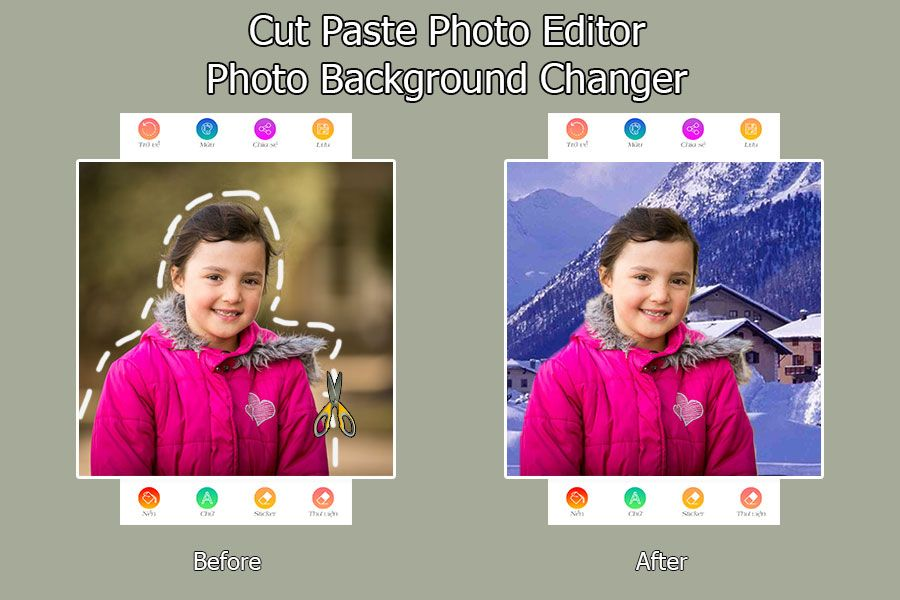 Cut Paste Photo Editor – Android Source Code Screenshot 2