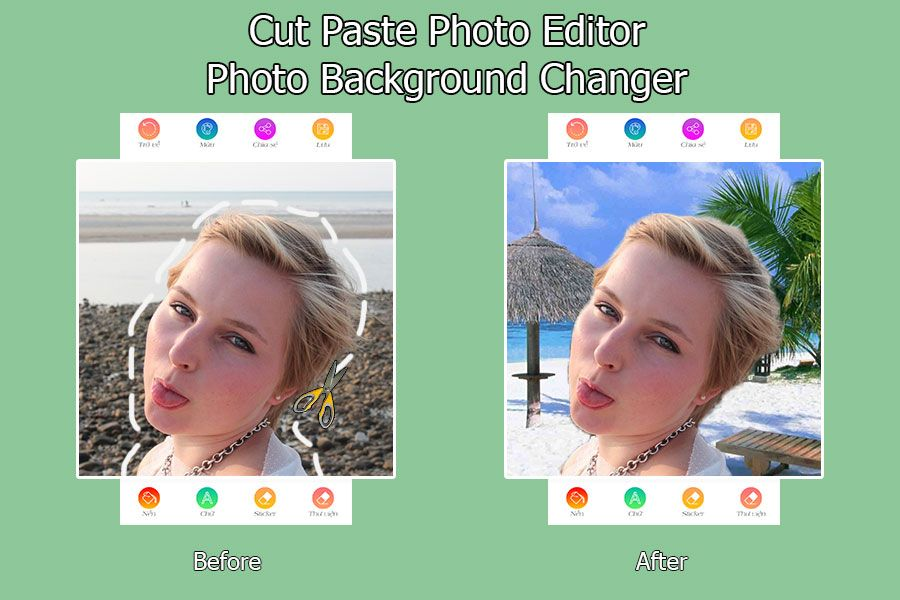 Cut Paste Photo Editor – Android Source Code Screenshot 4