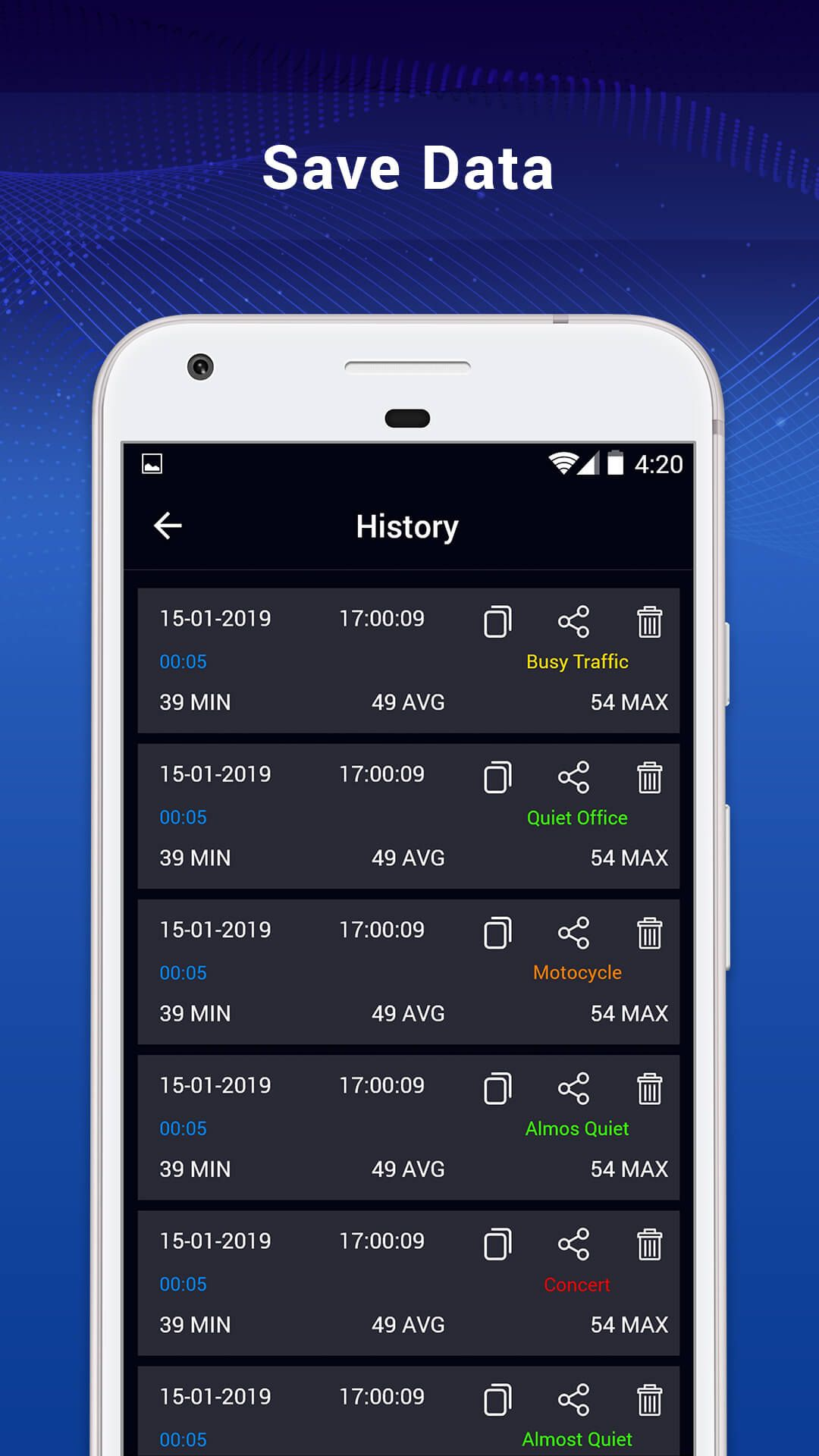 Sound Meter – Noise Level Meter Android Screenshot 2