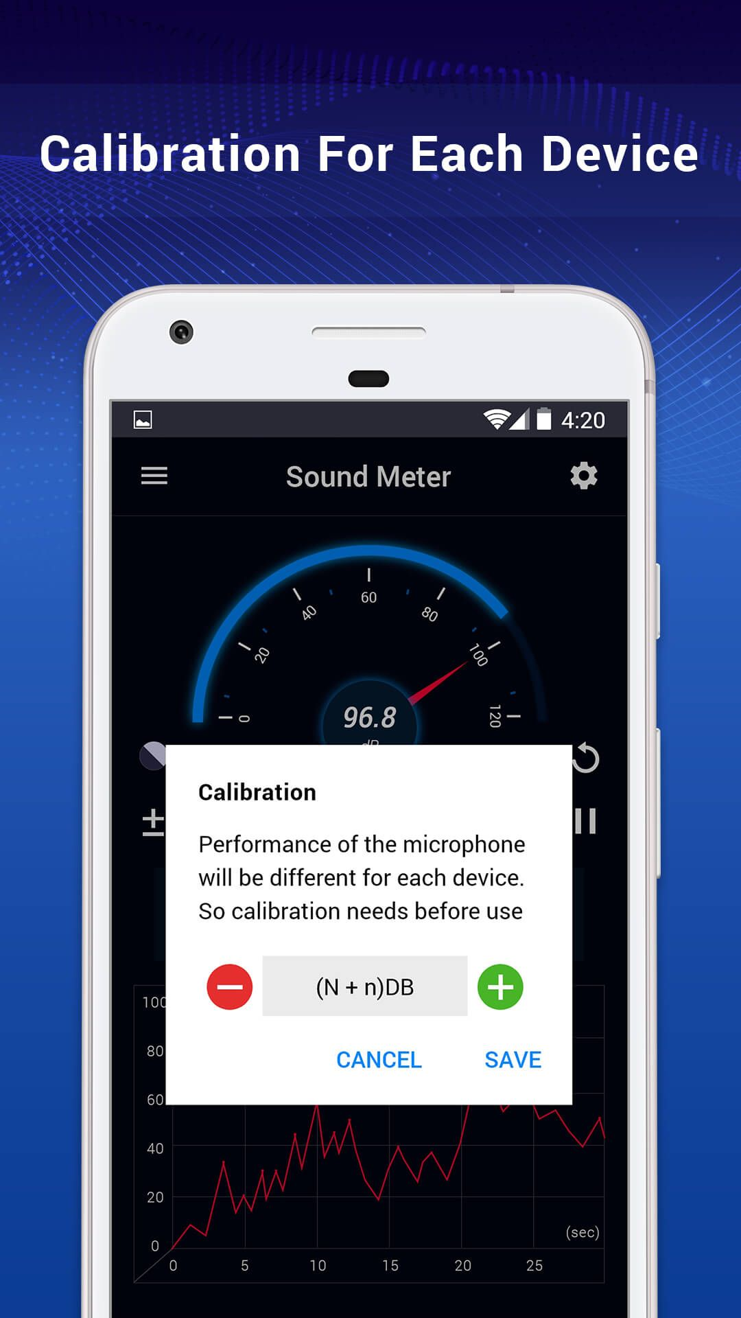 Sound Meter – Noise Level Meter Android Screenshot 5