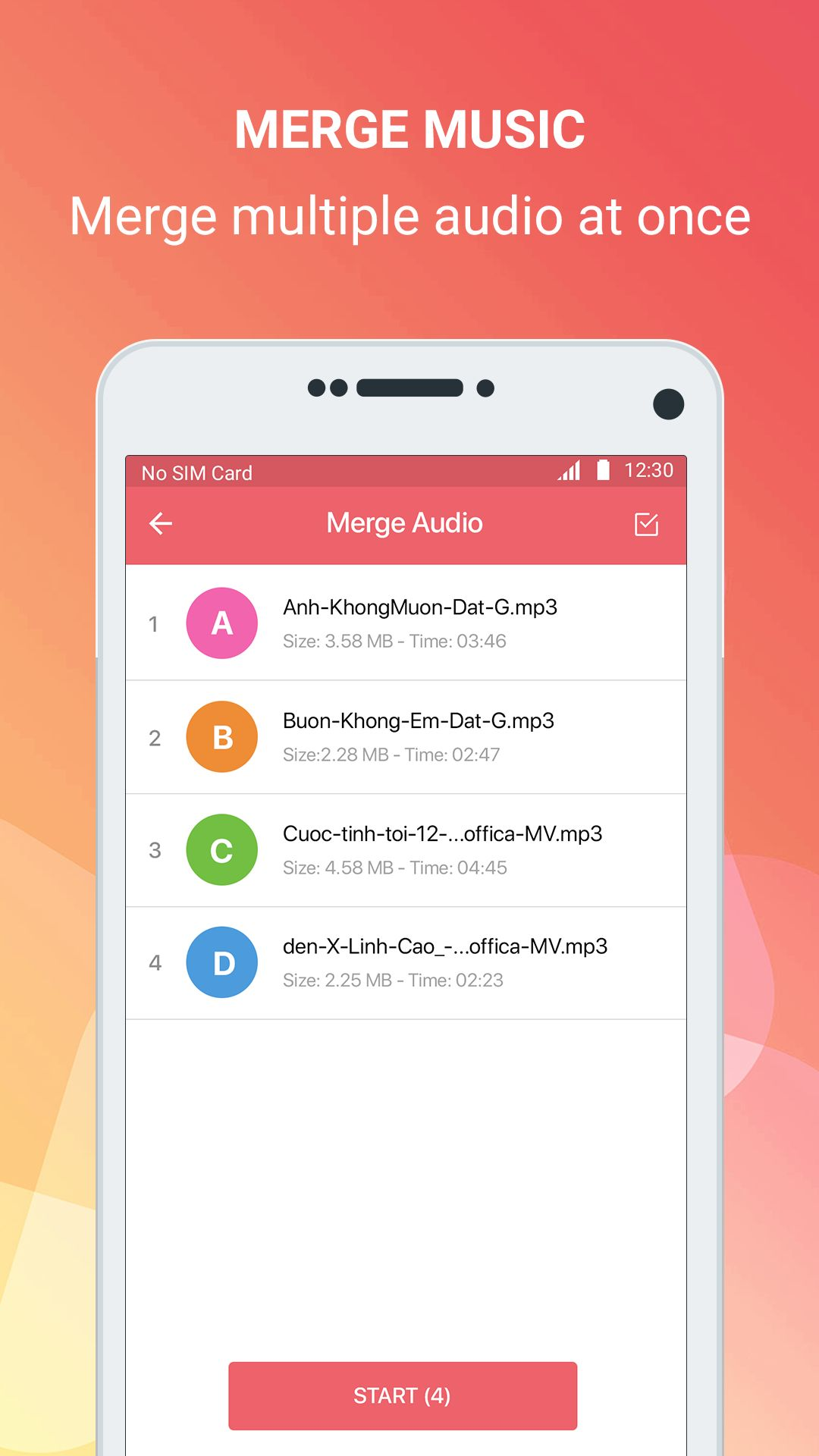 Mp3 cutter - Android Source Code Screenshot 4