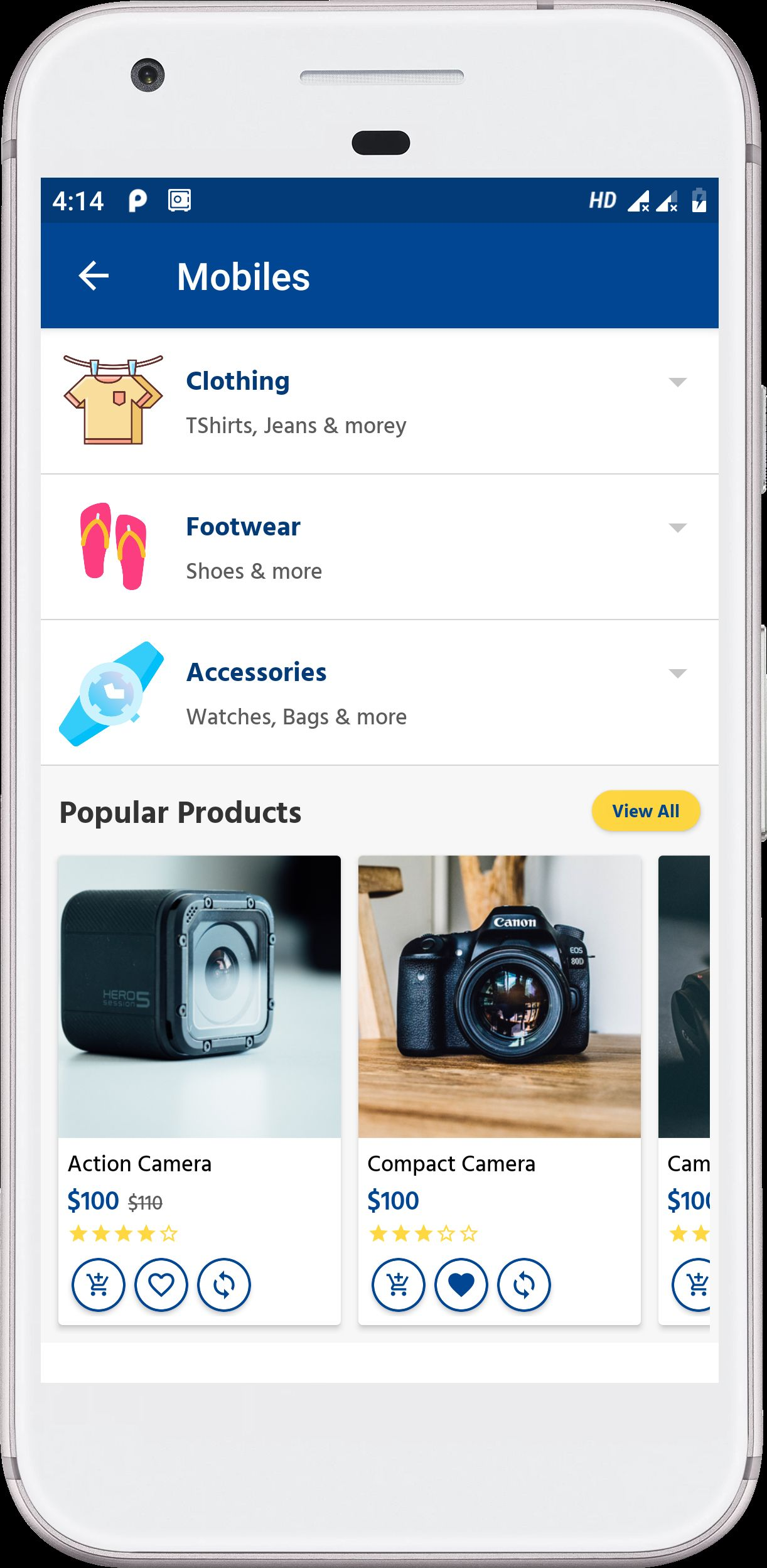 Android Native E-Commerce UI Kit Screenshot 3