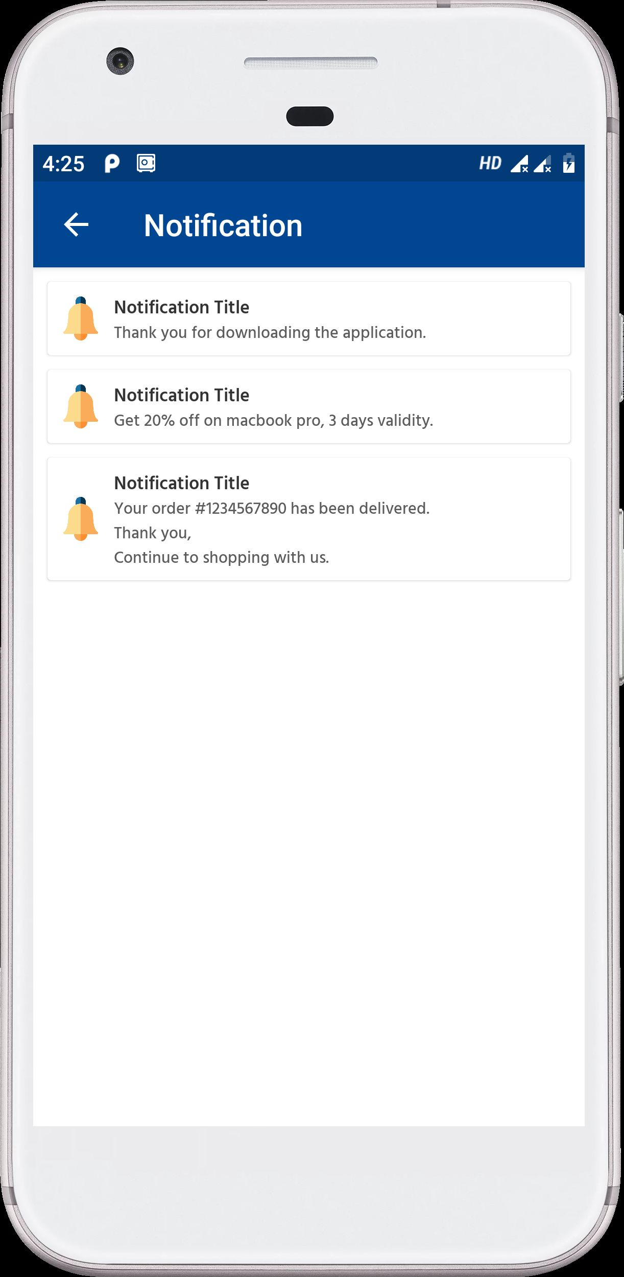 Android Native E-Commerce UI Kit Screenshot 23