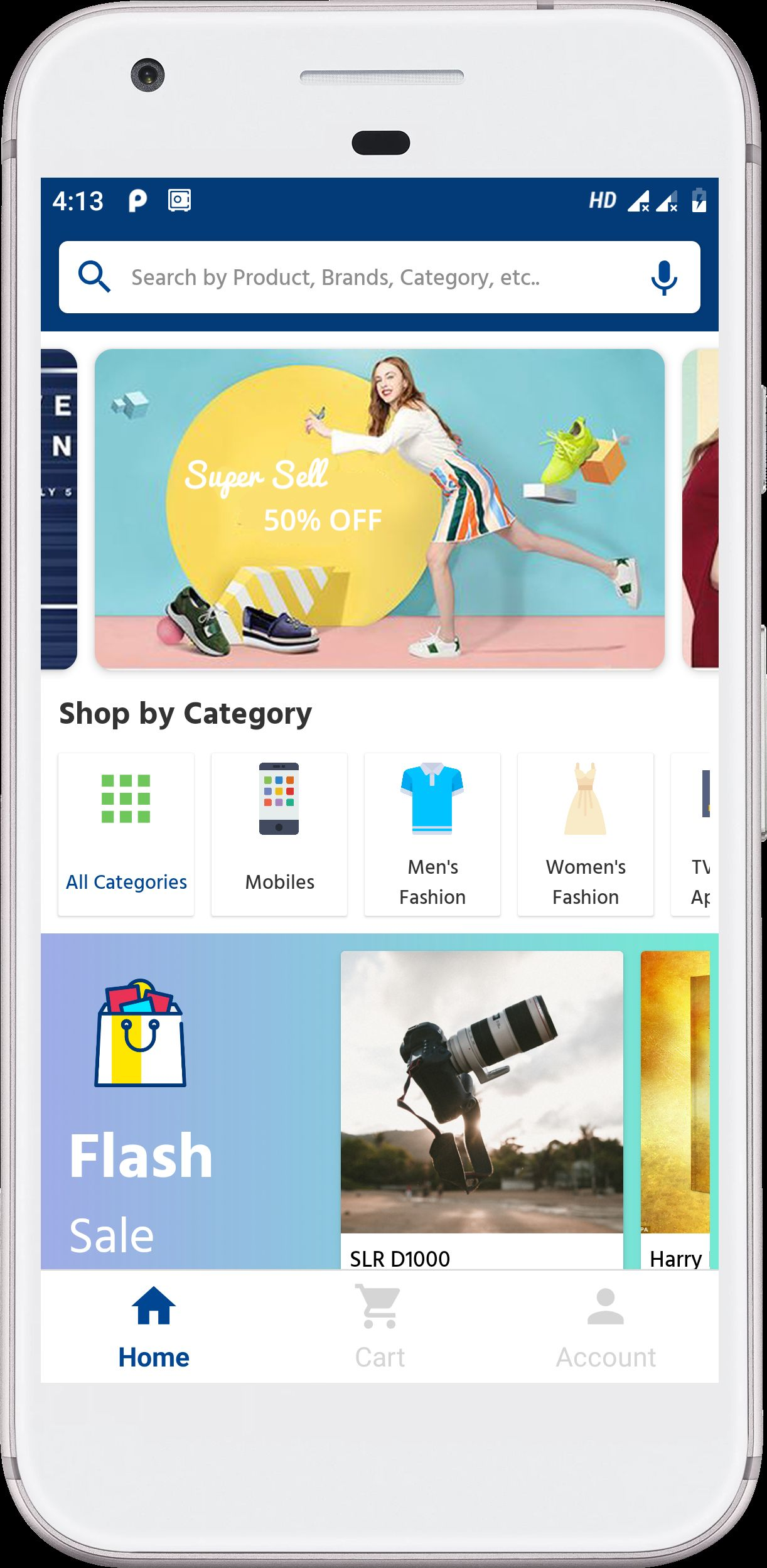 Android Native E-Commerce UI Kit Screenshot 34