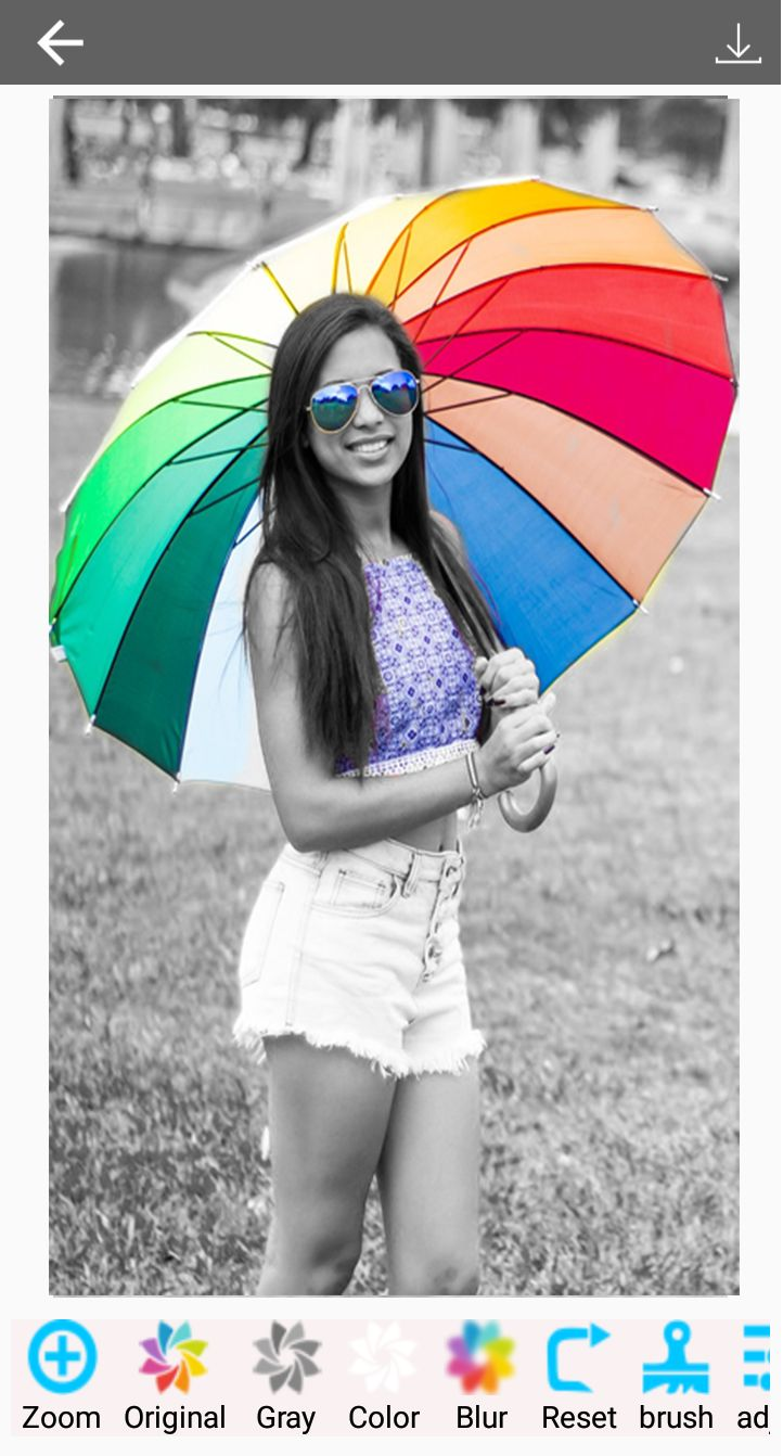 Color Splash Effect Photo Editor Android Screenshot 2