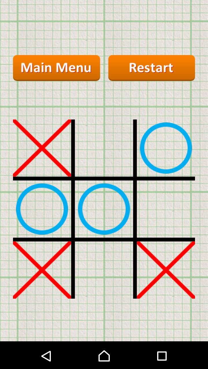 Tic Tac Toe - Android Game Source Code Screenshot 6