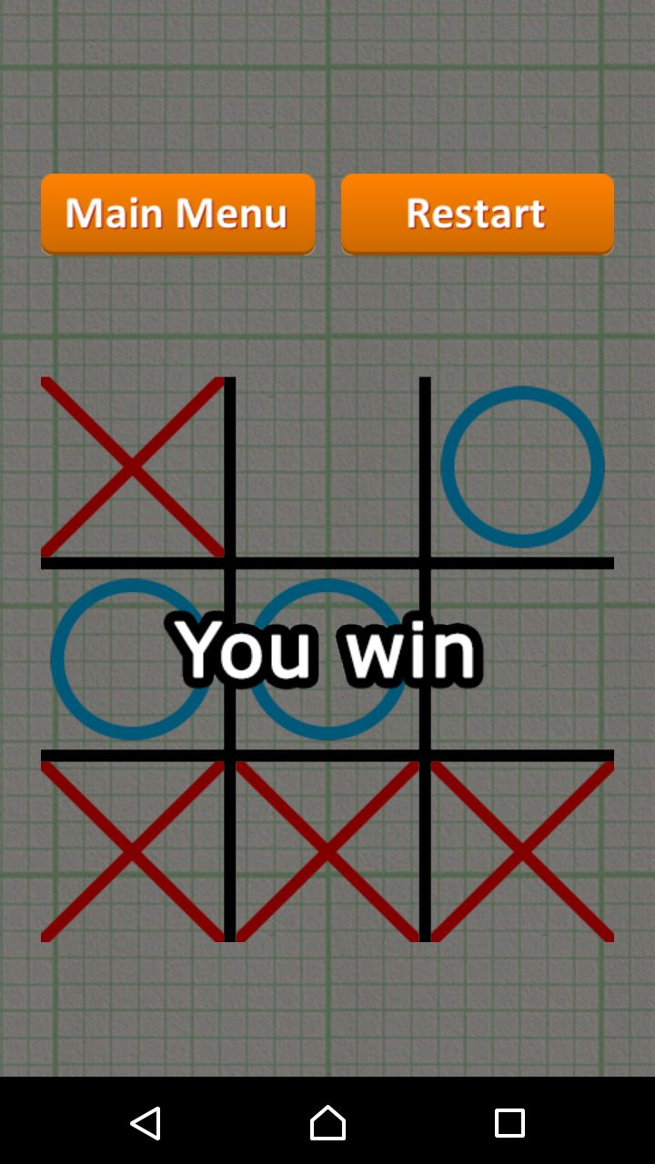 Tic Tac Toe - Android Game Source Code Screenshot 7