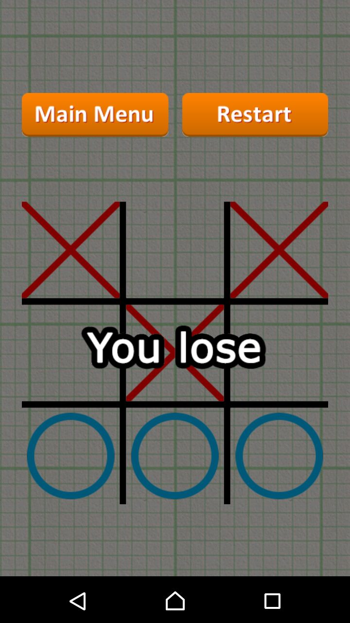 Tic Tac Toe - Android Game Source Code Screenshot 8