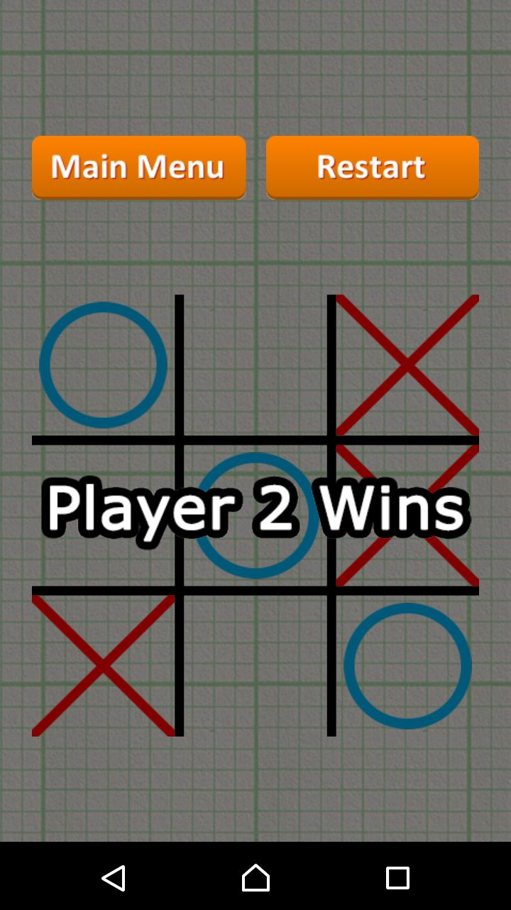 Tic Tac Toe - Android Game Source Code Screenshot 9