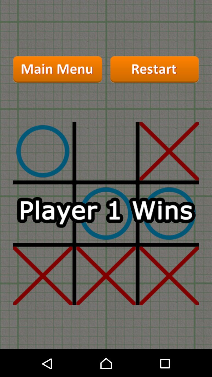 Tic Tac Toe - Android Game Source Code Screenshot 10