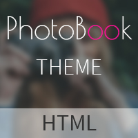 PhotoBook - Photography HTML Template