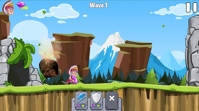 Caveman Rina- Complete Unity Game Template Screenshot 3