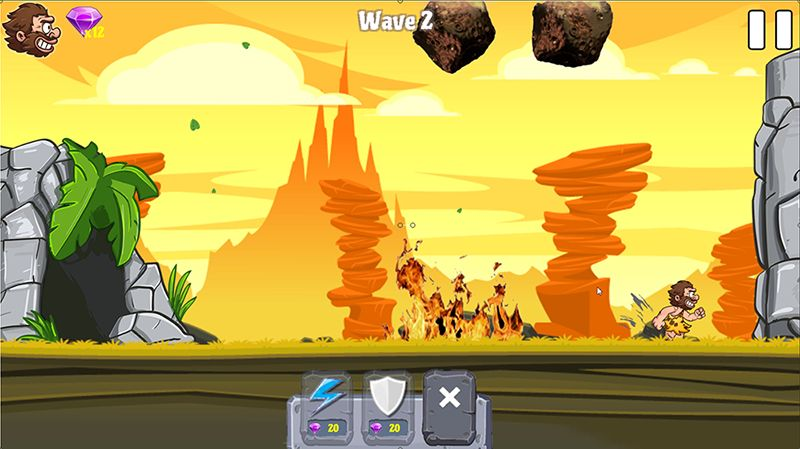 Caveman Rina- Complete Unity Game Template Screenshot 4