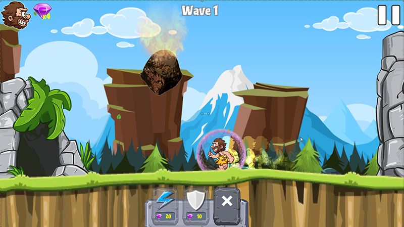 Caveman Rina- Complete Unity Game Template Screenshot 8