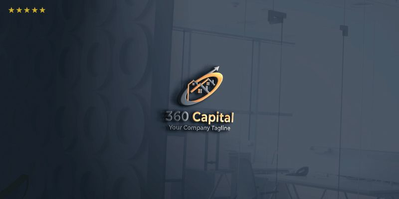360 Capital Logo Template Screenshot 1