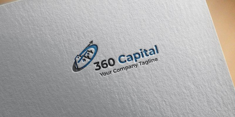 360 Capital Logo Template Screenshot 2