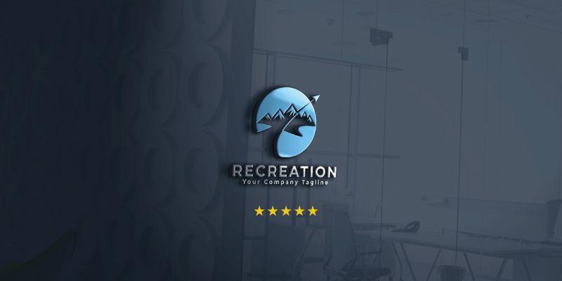 Recreation Logo Template Screenshot 1