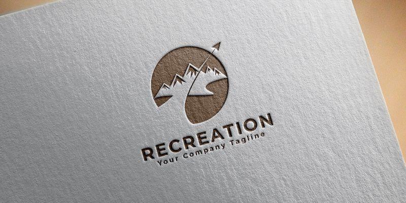Recreation Logo Template Screenshot 2