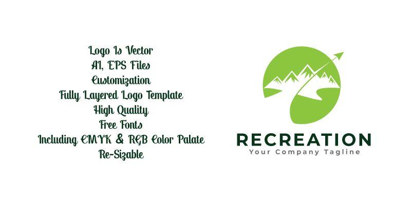 Recreation Logo Template Screenshot 3