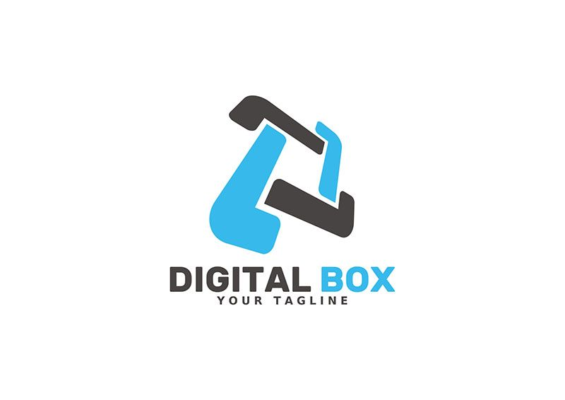 Digital Box - Logo Template Screenshot 1
