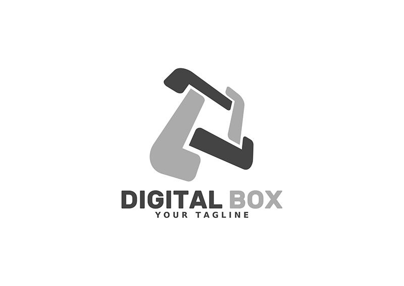 Digital Box - Logo Template Screenshot 2