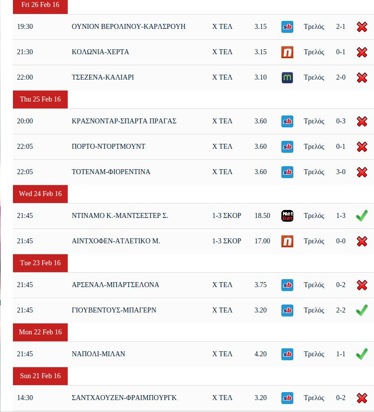 Betting Tips - Joomla Extension Screenshot 3