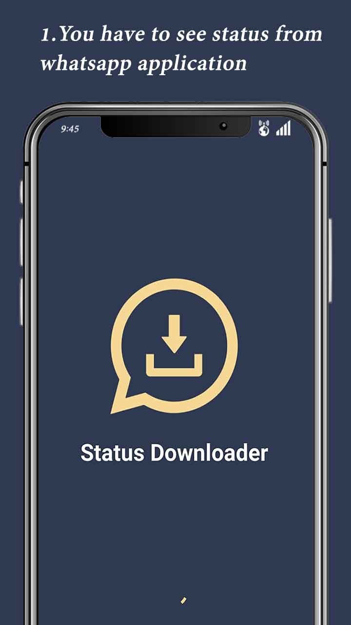 Status Downloader For Whatsapp - Android Code Screenshot 1