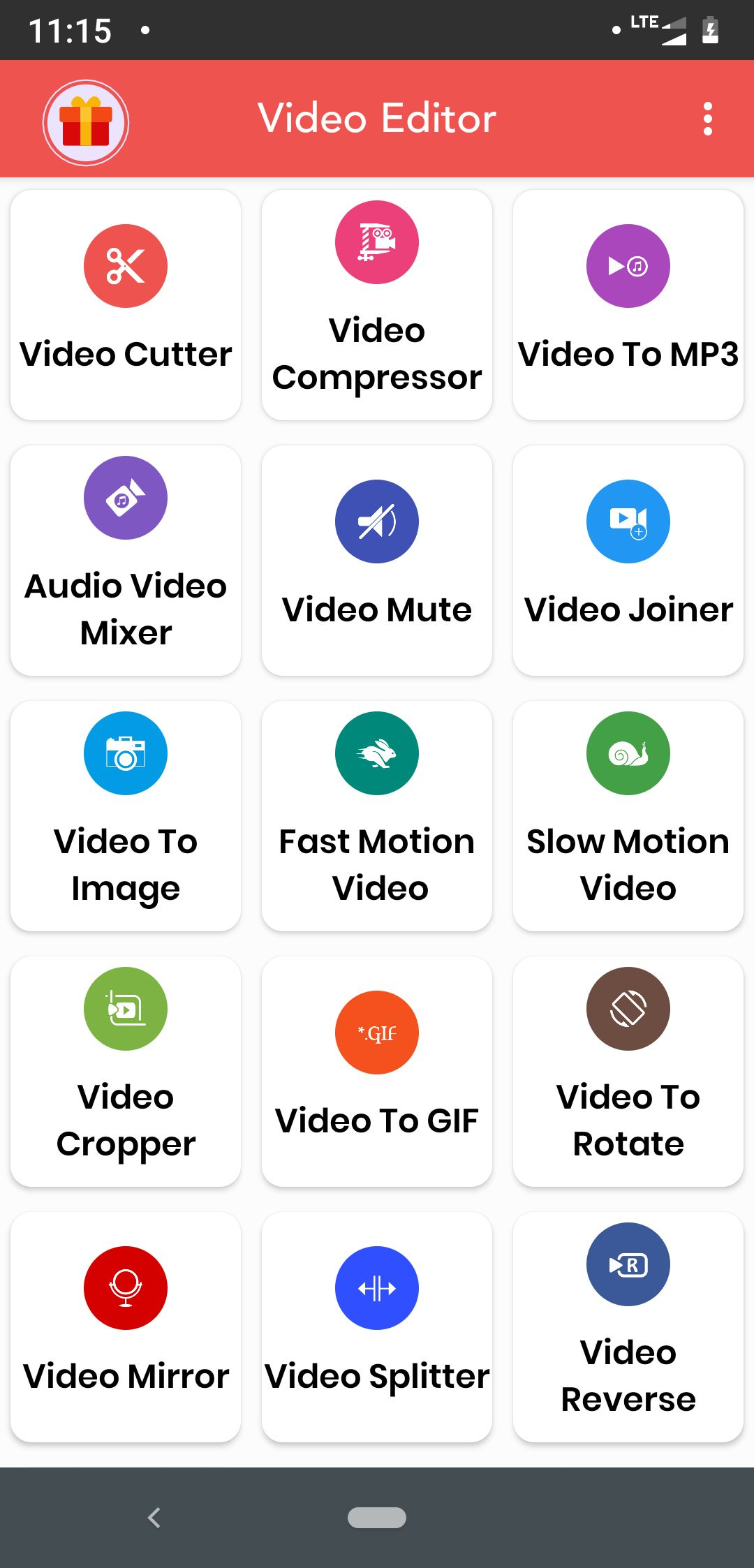 Video Editor And Video Maker Android Source Code Screenshot 1