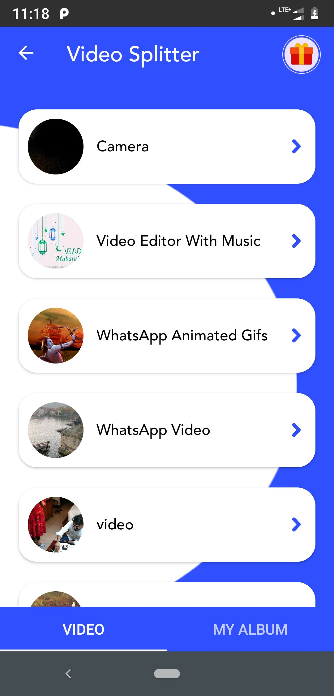 Video Editor And Video Maker Android Source Code Screenshot 2