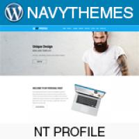 NT Profile – CV Resume Wordpress Theme