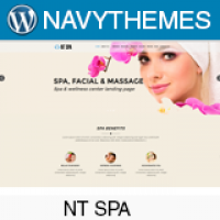 NT Spa – Spa Wordpress Theme