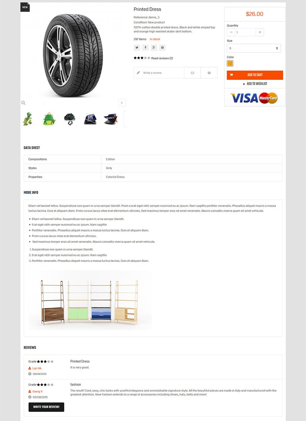 Autofix - Prestashop Theme Screenshot 5