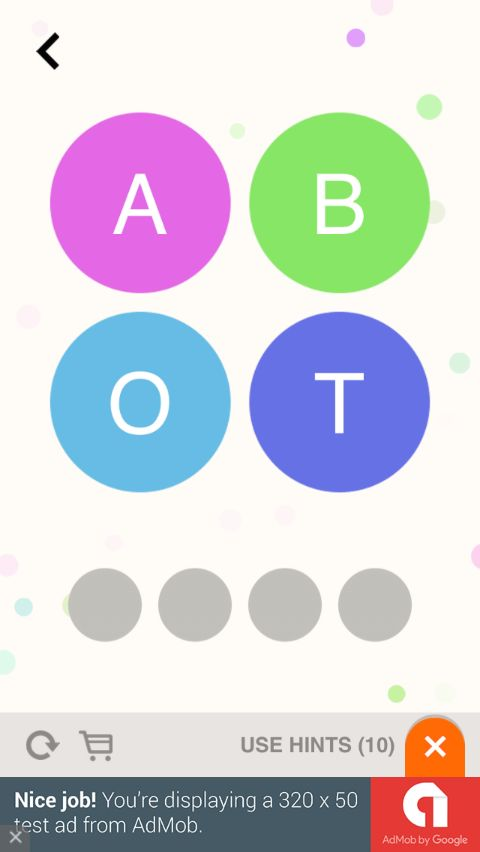 Word Guess - iOS Game Source Code Screenshot 5