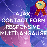 AJAX Multi-language Contact Form - PHP Script