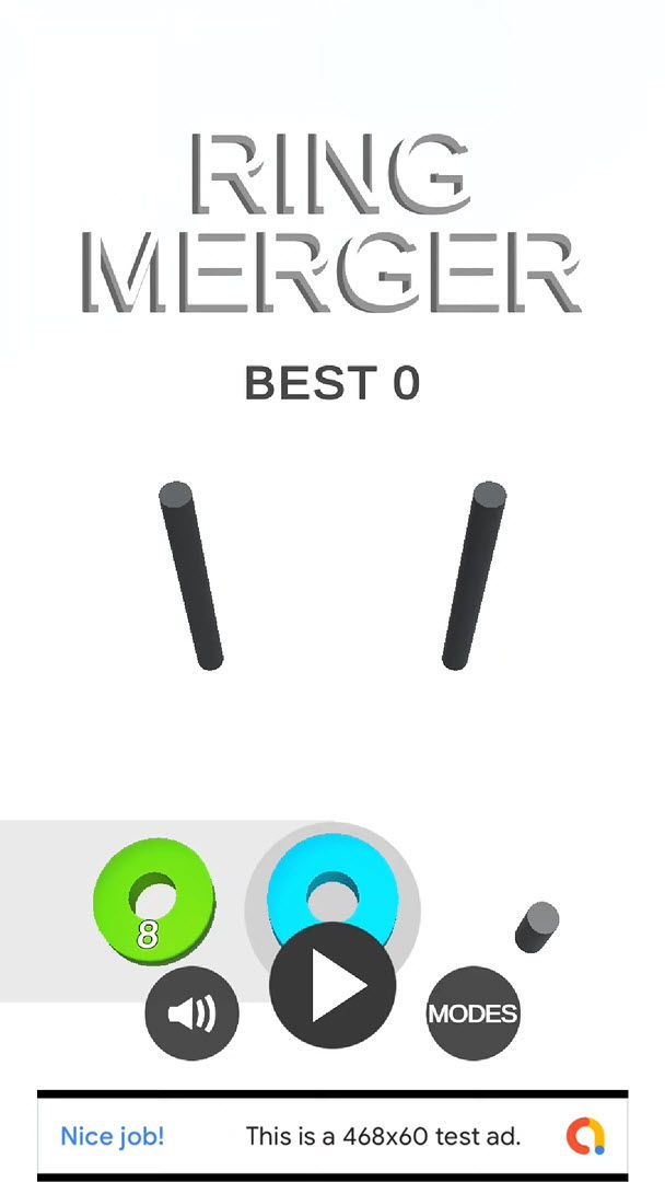 Ring Merger - Complete Unity Game Screenshot 1