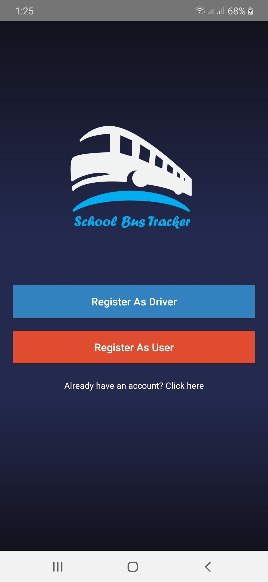 School Bus Tracker Android Source Code Screenshot 3