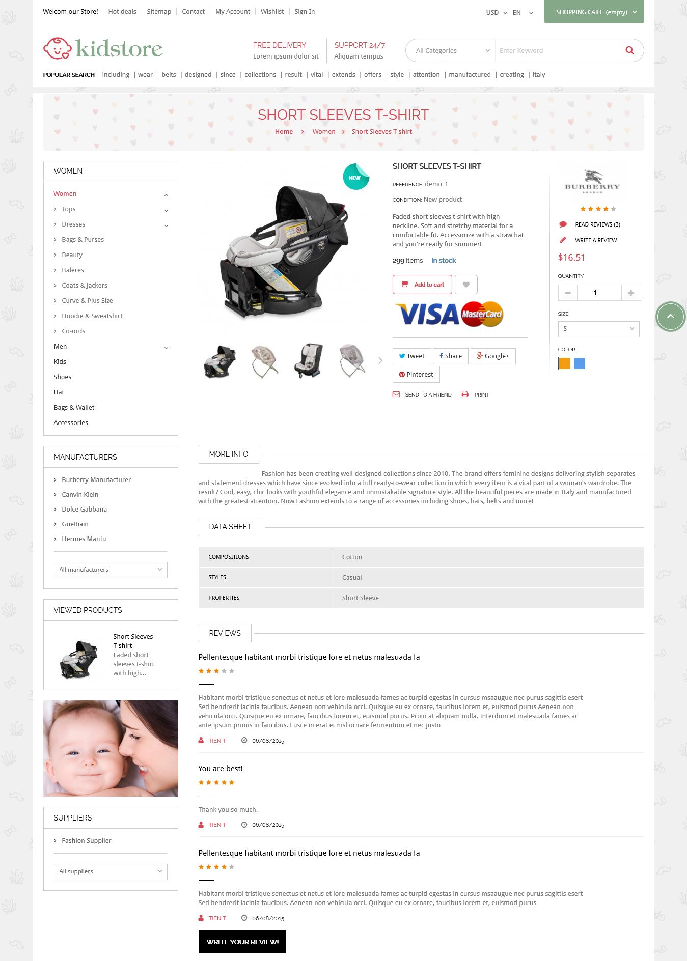 Kidstore - Children & Kids PrestaShop Theme Screenshot 5