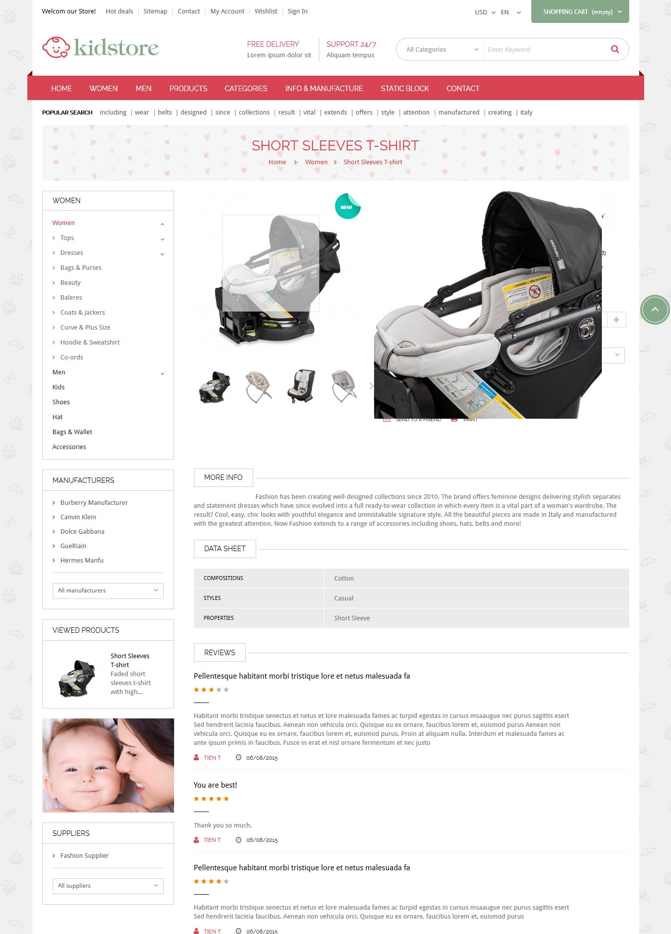 Kidstore - Children & Kids PrestaShop Theme Screenshot 6