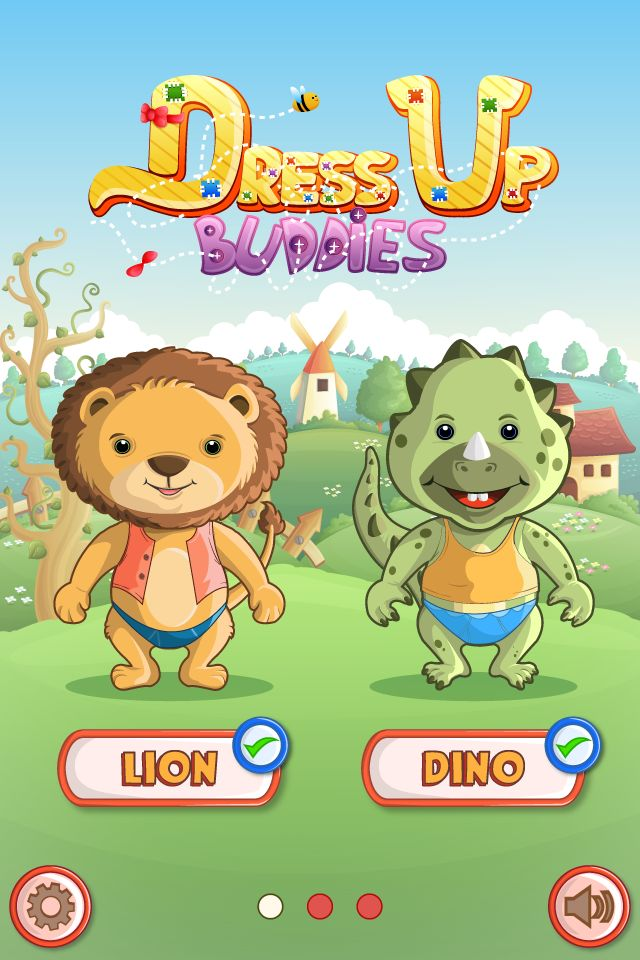 Dress up Game - iOS App Source Code Screenshot 2