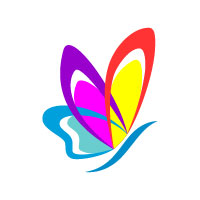 ​Butterfly Colors Logo 8