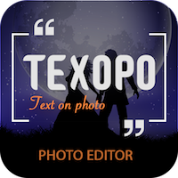 Texopo - text On Photo Quote Creator Android App