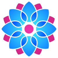 Yoga and Lotus Logo 7