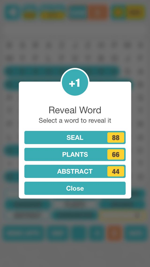iWords - Word Search Game iOS Source Code Screenshot 8