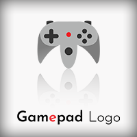 Gamepad Logo - 2 Versions