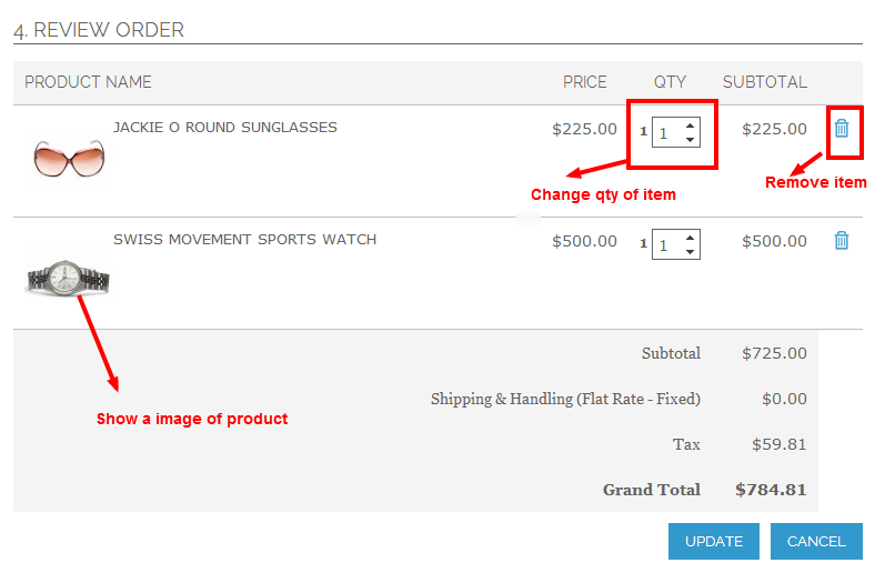 One Step Checkout - Magento Extension Screenshot 5