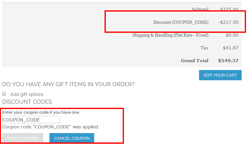 One Step Checkout - Magento Extension Screenshot 7
