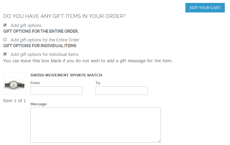 One Step Checkout - Magento Extension Screenshot 8