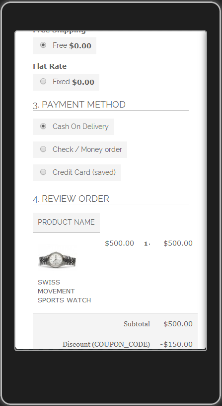 One Step Checkout - Magento Extension Screenshot 12